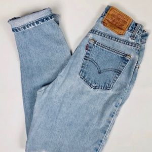 Vintage Levi's 512 slim straight fit